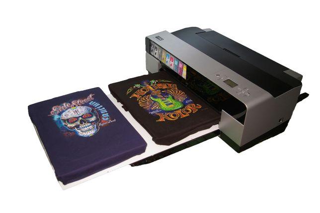 Imprimanta de tricouri Dtg A2 direct pe textile