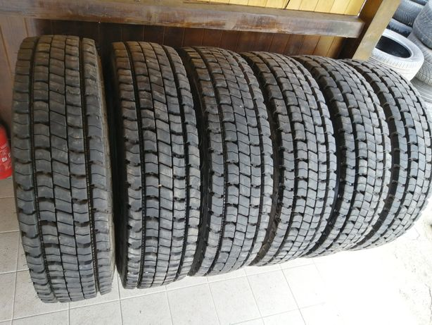 255/70 R22,5 Continental HDR de tracțiune 140/137 M made in USA.  18mm
