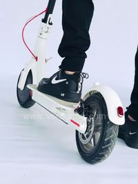 SMARTRIDER Electric scooter (white) Електрически скутер
