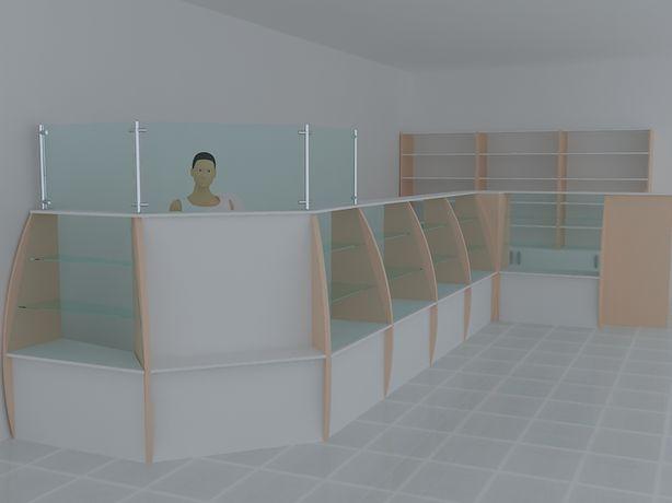 Мебель для аптек и магазинов