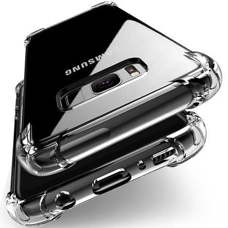 Удароустойчив Прозрачен Кейс за Samsung Galaxy S8 S9 S10 А40 А50 А70