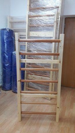 Spalier gimnastica pentru copii 160 x 70 cm Nelacuit