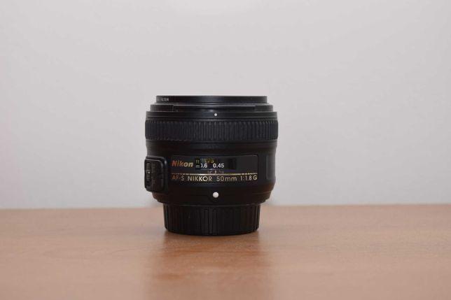 Nikkor 50mm f/1.8G impecabil