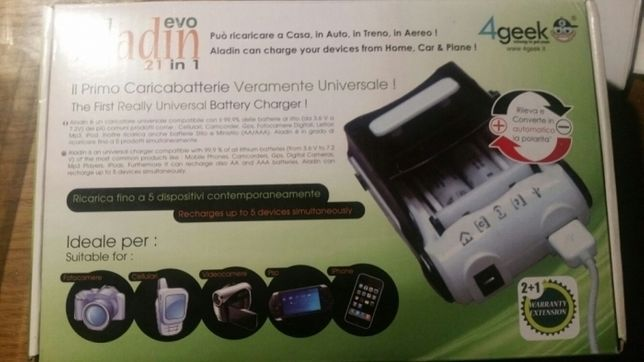 Incarcator baterii 20 in 1 Aladin