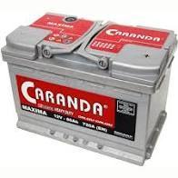 Vand baterie auto Caranda Maxima 80ah 730A