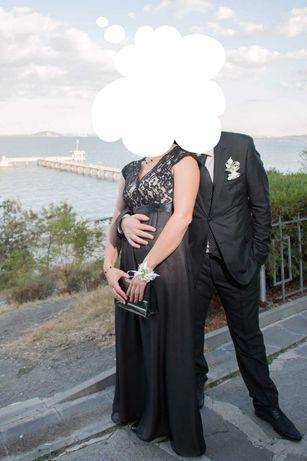 Официална дълга рокля размер М