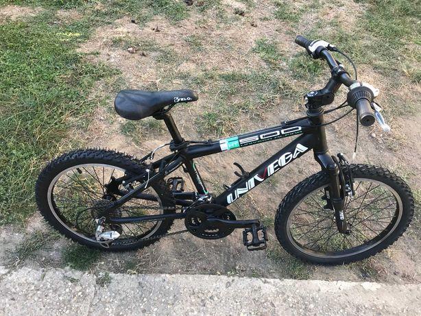 "Bicicleta UNIVEGA  20"" MTB Copii 24Vit Shimano Suspensie Mountain Bike"