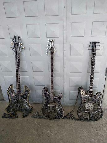 Ръчно изработени дизайнерски китари за подарък