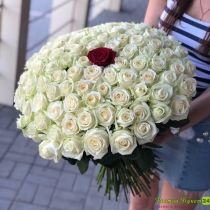 Доставка цветов Розы Букеты Астана Нур-Султан 11