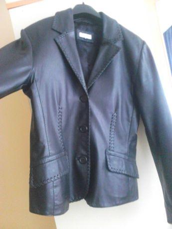 Естествена кожа яке- сако - изключително качество,ръчен шев