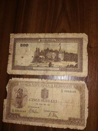 Bancnote 500 lei - 1941