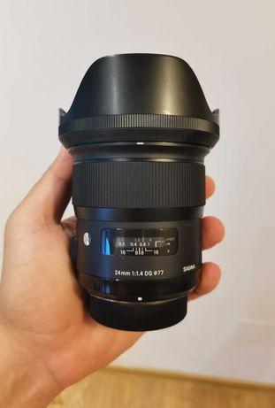 Sigma 24 1.4 montura Nikon