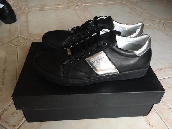 Оригинални мъжки обувки Келвин Клайн от естествена кожа