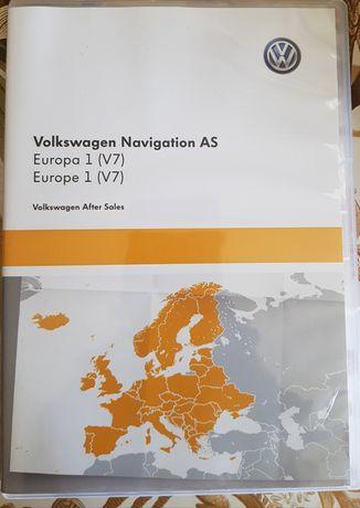 Volkswagen Navigation AS Europa v7