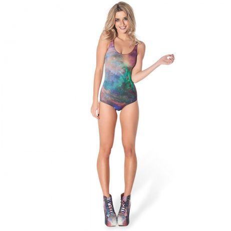 Costum de baie intreg cu plasa/costume intregi multicolore