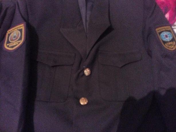 Китель и брюки (военная форма), для пожарников, новые, размер 48 и 46