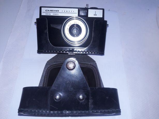 Фотоаппарат Смена символ и Смена 4