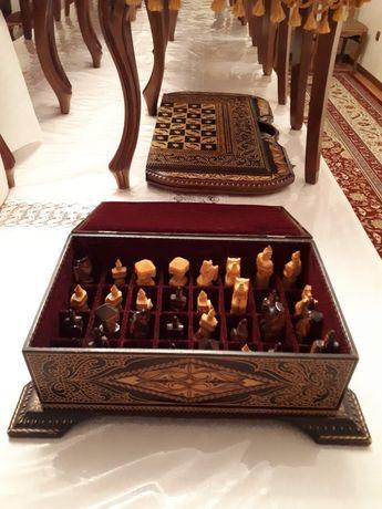 Нарды шахматы ручной работы