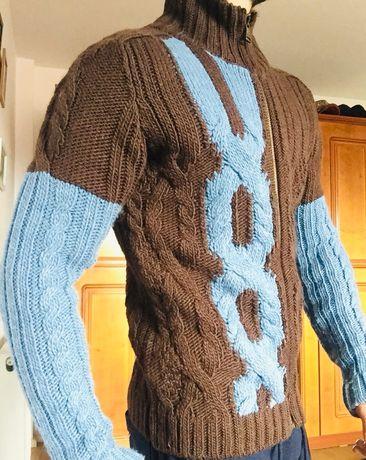 cardigan XL lana