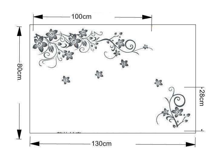 Sticker Floral, KC_C806