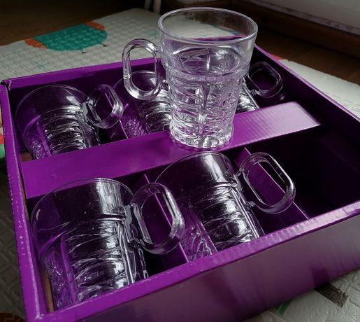 Set 6 pahare din sticlă