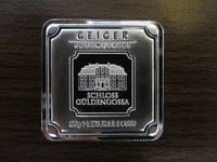 Lingou argint 999 , Geiger Edelmetalle Germania 20 grame