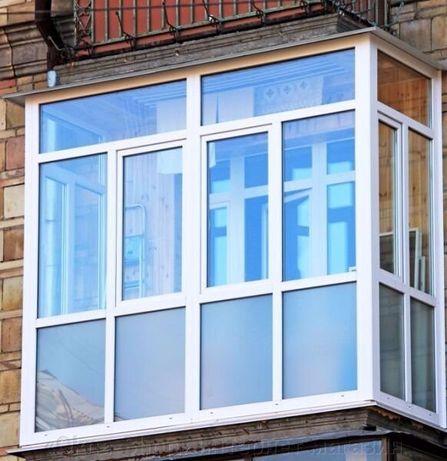 Пластиковые окна  балконы лоджии рассрочка кредит