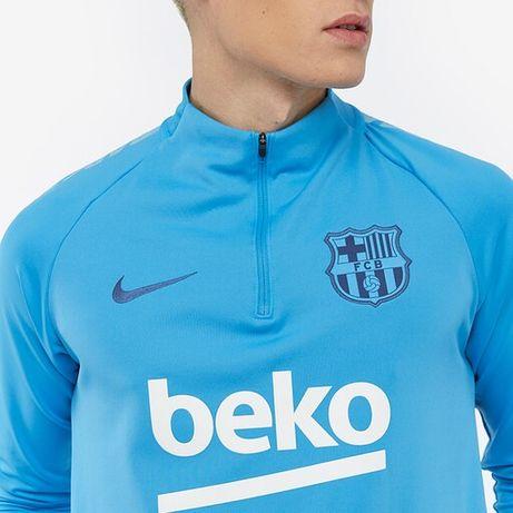 Nike FC Barcelona 2018/19 Dry Squad Drill Top - Equator Blue размер М