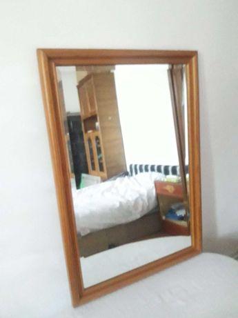 oglinda cristal si rama din lemn