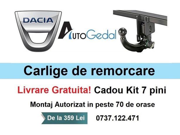 Carlig Remorcare Dacia Logan,Duster,Dokker,MCV,Lodgy,Sandero