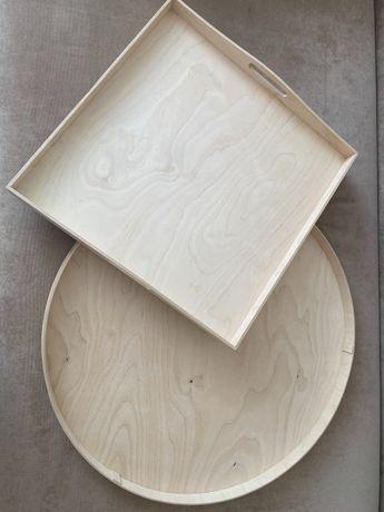 Деревянная доска с бортиками