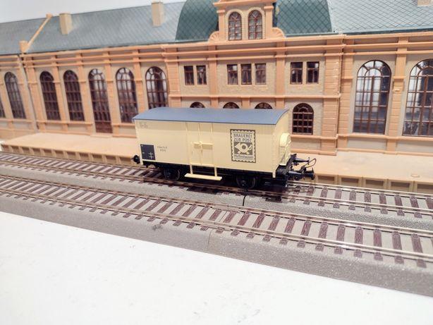 Macheta vagon posta bagaje trenuleț Sachsenmodell HO
