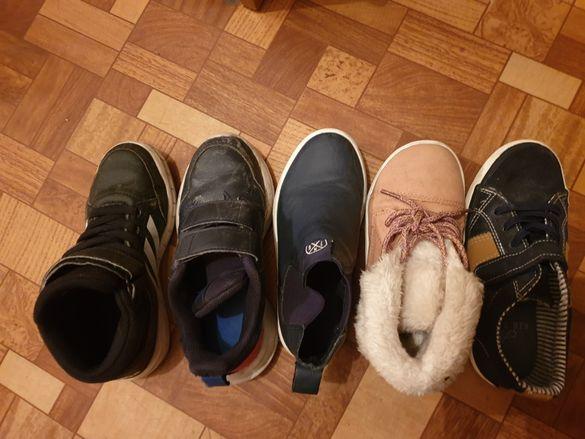 Детски обувки адидас найк и др