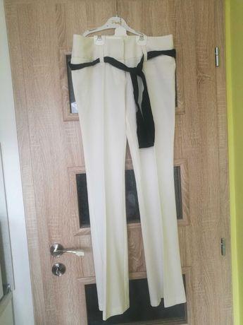Нов официален бял панталон, размер s/m