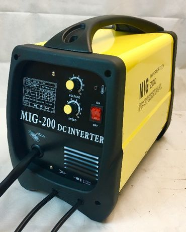 Професионално Телоподаващо МИГ 200А СО2. Електрожен