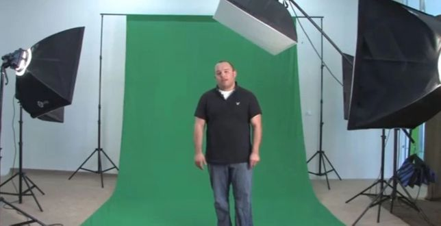 Зелёный фон (хромакей) Размеры 1×2,3м,2х2,3м,3х2,3м,4х2,3м,5х2,3м,6х