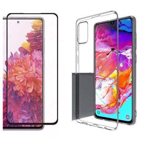 Samsung A51 A71 S20FE M31S M51 Pachet Husa Silicon+Folie Sticla Cubata