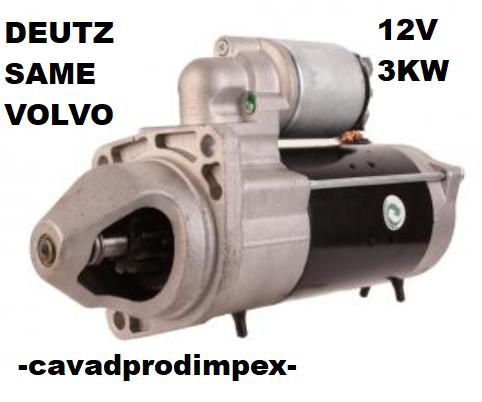 Electromotor agro Deutz, Same, marine, cu reductor 12V, 3kw