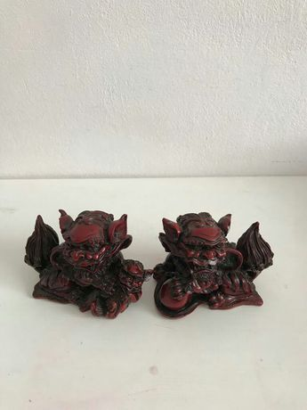 Figurine decorative dragon asiatic