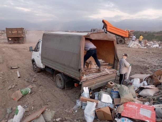 Вывоз мусора строительного Газель Алматы ==> свалка вывоз мусор