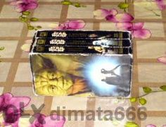 колекционерски оригинални видеокасети- Star Wars
