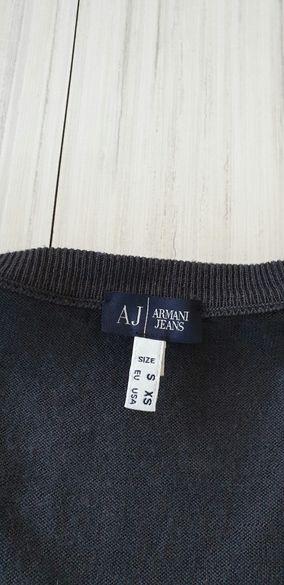 Armani Jeans AJ Wool Mens Size S/M НОВО! ОРИГИНАЛ!