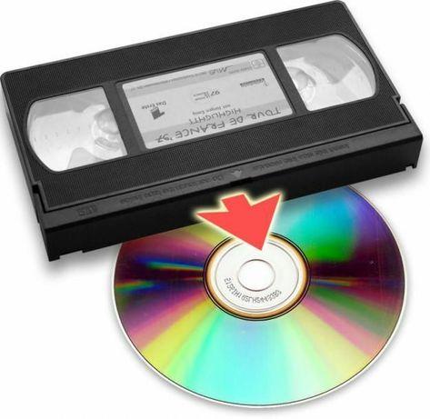 Видеокасетадан дискиге коширу