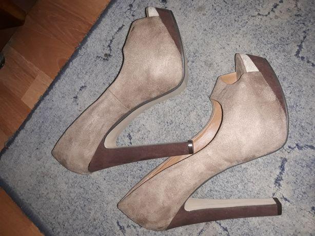 Pantofi damă, piele întoarsă, nr. 40