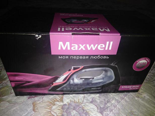Продам новый утюг Maxwell