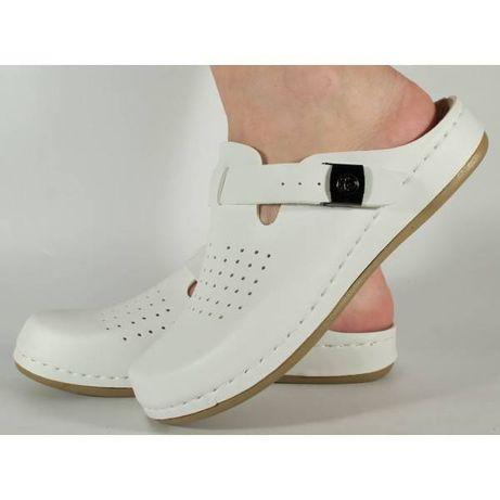 Saboti/Papuci medicinali albi gel pe talpa (cod 154063F)