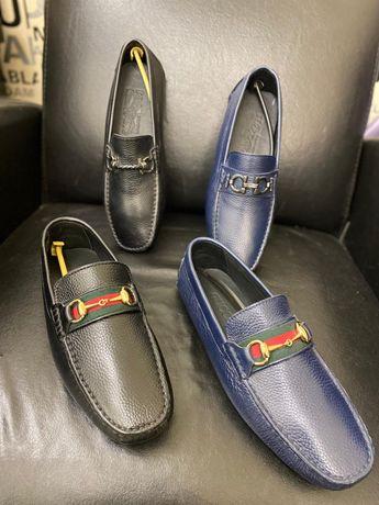 Mocasini pantofi sport Gucci piele naturala PREMIUM