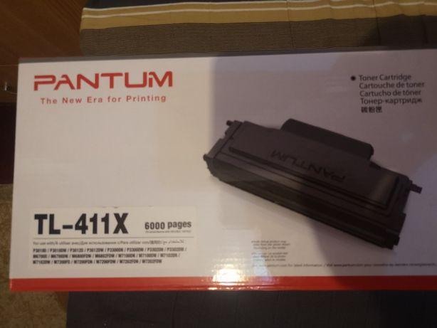 Cartus laser original PANTUM TL-411X Negru