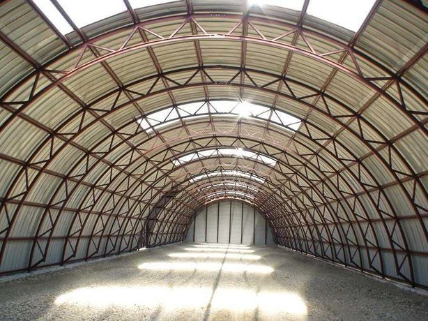 Металлоконструкции - ангары, склады, навесы, здания