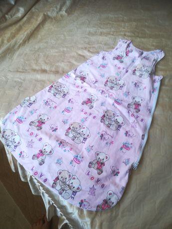 Спален чувал и хавлия за бебе+рокличка подарък